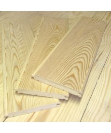 Вагонка штиль из лиственницы 14мм*140мм (Ц)