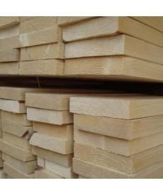Доска обрезная лиственница 50мм*100мм