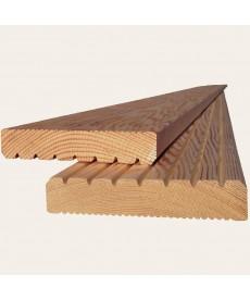 Террасная доска из лиственницы 28мм*110мм (Прима)