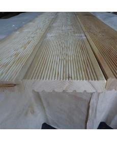 Террасная доска из лиственницы 34мм*110мм (Прима)