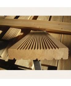 Террасная доска из лиственницы 34мм*110мм (АБ)