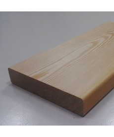 Палубная доска из лиственницы 34мм*90мм (Ц)