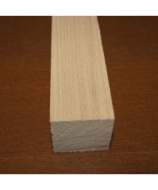 Брусок обрезной лиственница 25мм*25мм